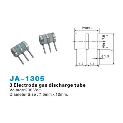 3 tubes à décharge de gaz Electrode JA-1305