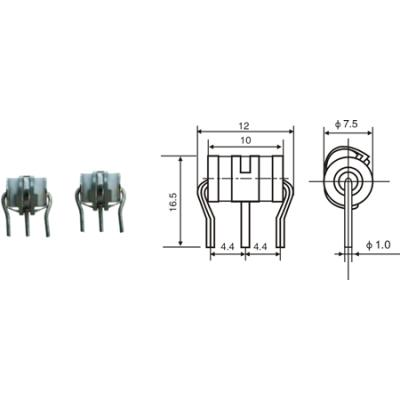 3 Electrode gas discharge tube                           JA-1306