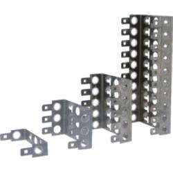 Back mount frame for 10 pair LSA module                           JA-1310