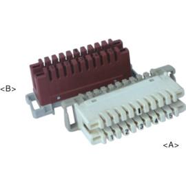 5 pair LSA connection module                     JA-1006C