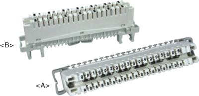 6 paires LSA module de déconnexion 2/6X3 JA-1033