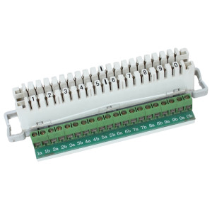 10 pair disconnection module with PCB                JA-1036
