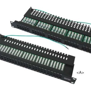 Cat3 50 port telephone patch panel                 JP-6420