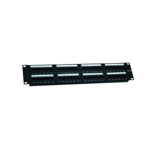 Cat6 48 port telephone patch panel          JP-6422