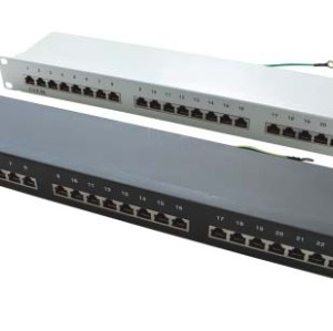 Cat.5e 24 port patch panel                           JP-6418S
