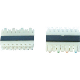4 pair 110 IDC connector                         JH-1012