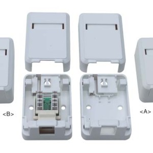 RJ45 surface mount box                JC-2102