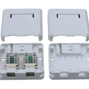 RJ45 surface mount box                JC-2103