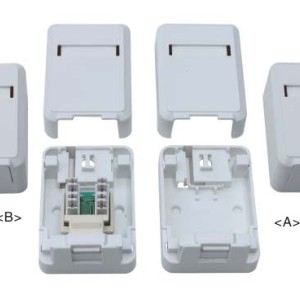 RJ45 surface mount box                JC-2104