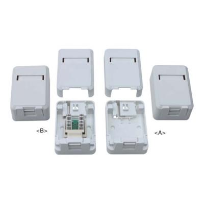 RJ45 surface mount box                JC-2104