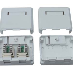 RJ45 surface mount box                JC-2105