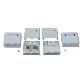 RJ45 surface mount box                JC-2105