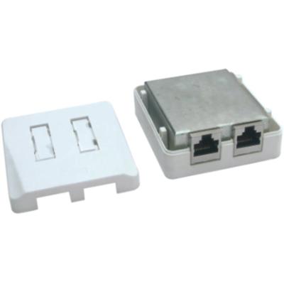 Cat.5e RJ45 surface mount box                JC-2111