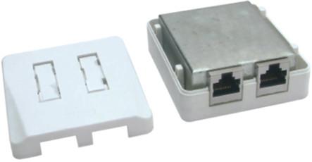 Cat.5e surface de montage RJ45 boîte de JC-2111