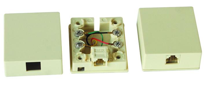 RJ11 pour montage en surface boîte de JC-2113