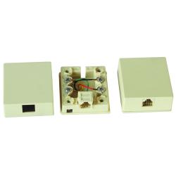 RJ11 surface mount box                JC-2113