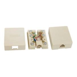 8P8C/RJ45 Surface mount box                 JC-2112