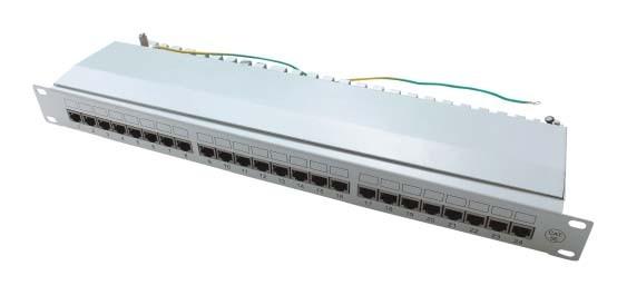 Conectador clase super 5 con 24 bocas: JP-6416S