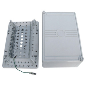 Estuche de separador de cables de 100 pares de estilo inglé JA-2043