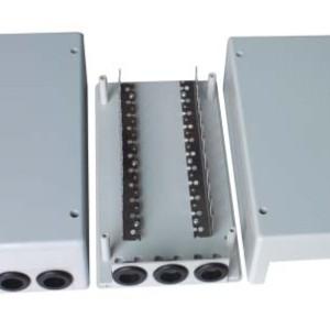 Estuche de separador de cables para el uso bajo techo de 100 pares JA-2045
