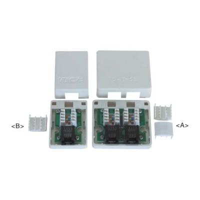 JC-2108 : علبة المكتب RJ45 بالفئة 5e ( تضمن PCB )