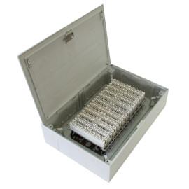 100 пар закрытый распределительной коробке с монетой JA-2044