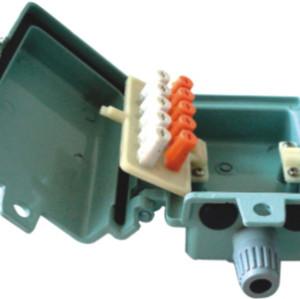 5 пар алюминиевого распределительная коробка JA-2071