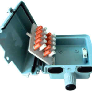 10 пары алюминиевых распределительная коробка JA-2072
