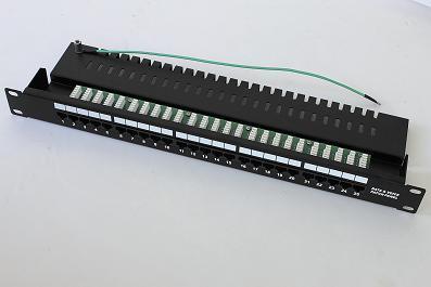 Cat3 25 порту телефонной патч-панели JP-6419