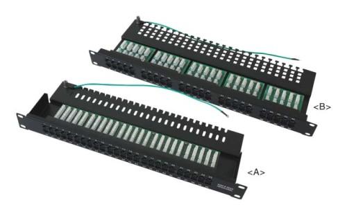 Cat3 50 порту телефонной патч-панели JP-6420
