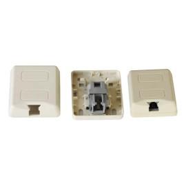RJ11 Pouyet тип поверхностного монтажа коробки JC-2114