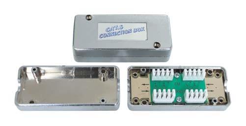 CAT.6 соединительная коробка JA-4104S