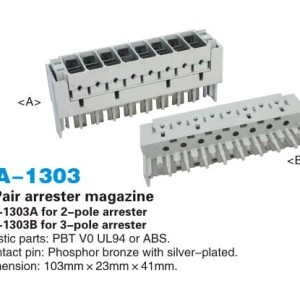 8 пара разрядник журнал / защитой от перенапряжения журнала JA-1303