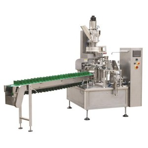 Premade Glass Bottle Packing Machine