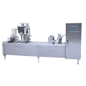Automatic Plastic Cup Fill and Seal Machine