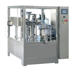 Rotary Pre-made Pouch Packaging Machine(RZ6-300)