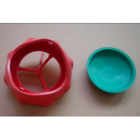 Injection rubber mould