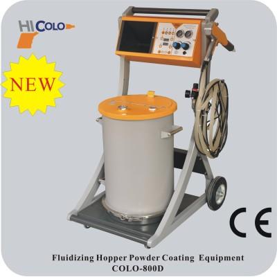 Verniciatura a polvere, sistema di applicazione polvere
