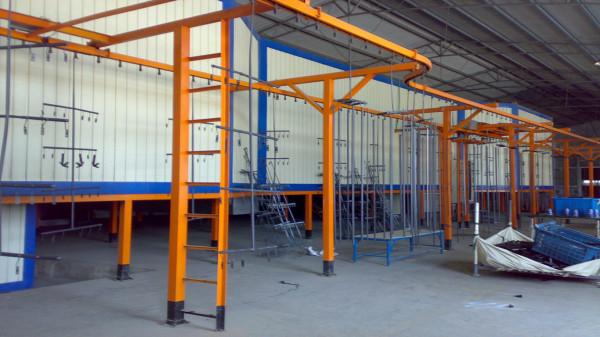 مشاريع الطلاء الكهروستاتيكية مع السيور