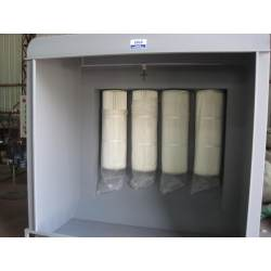 Kabinen für Pulverbeschichtung