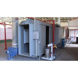 cabinas para pintura electrostática