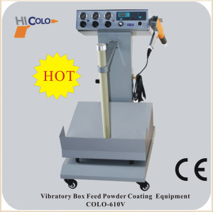box feed powder coat machine