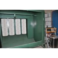 Cabinas para aplicación de pintura en polvo