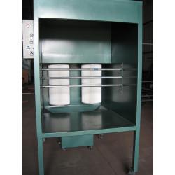 高回收率单 (双)工位粉末喷涂喷台室