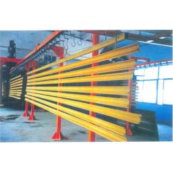 铝型材粉末涂装流水线 杭州卡罗弗涂装设备专业打造