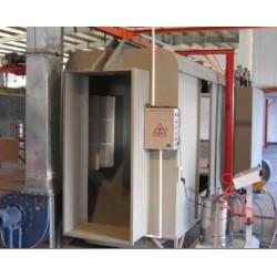 厂家直供 静电喷涂设备,喷涂流水线, 喷房,喷粉台