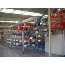 优质铝合金轮毂粉末喷涂喷涂线,colo 品质专业打造