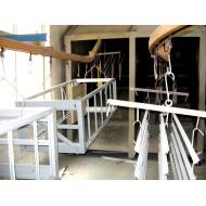 优质铝合金栏杆粉末喷涂流水线
