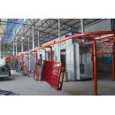 Security door  shutter spray Coating Line