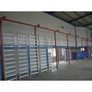Railings powder coating line
